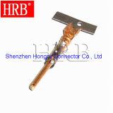 Conetor terminal masculino do cobre automotriz do friso