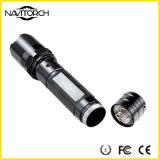 1X18650 recarregável lanterna elétrica do diodo emissor de luz de um curso de 130 lúmens (NK-228)