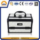 아BS 2개의 쟁반 (HB-2038)를 가진 직업적인 메이크업 아름다움 상자