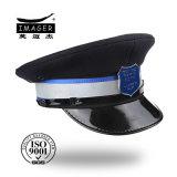 Negro escogió Militar Cap Ejército con Blue Badge