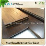 Suelos de madera sólidos del Ipe de la nuez brasileña del bajo costo de Foshan
