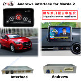 Interface de navegação do carro Android para Mazda2 Cx-3 Upgrade Touch Navigation, Play Stor, WiFi, Bt, Mirrorlink, HD 1080P