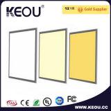 5 años de panel de la garantía 595X595m m LED con el Ce Sosa