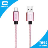 Tipo novo cabo do projeto do USB de Tranfer dos dados do telefone de C