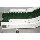 Convoyeur inclinant de convoyeur à bande de PVC pour le système de convoyeur inclinant utilisé dans l'industrie