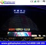 Alta pantalla de visualización a todo color al aire libre de LED de la INMERSIÓN P10 del brillo
