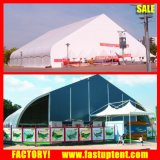 estructura al aire libre de lujo de la curva de 100 ' x100 para el acontecimiento y el concierto del partido