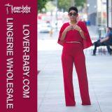 De Kleren van sexy Rode Toevallige In het groot Vrouwen Jumpsuit (L55162)