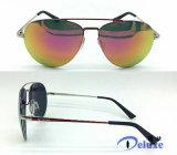 Gafas de sol polarizadas diseñador a estrenar del metal para los hombres con su insignia (DM1278TL)