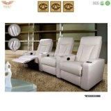 Sofá moderno do couro da cadeira do lazer da mobília (HY2601)
