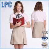 Vêtements faits sur commande de mode de coton d'usine pour l'uniforme scolaire des élèves