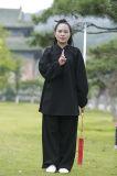 Tai van het taoïsme Kostuum van de Vrijetijdskleding van de Sporten van de Kraag van het Vlas van de Lente & van de Zomer van de Vrouwen van de Chi het Schuine