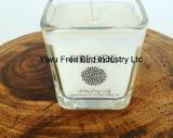 Vela de encargo de la soja perfumada única del tarro - jengibre del azafrán