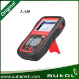 herramienta de diagnóstico Al539 Obdii del Al 539 de 100%Original Autel y actualización eléctrica Autel en línea Autolink Al539 de la herramienta de prueba Al539