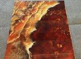 Panneau de mur en plastique avec la texture de marbre