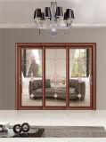 Алюминиевая стеклянная раздвижная дверь 3301