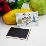 Autoadesivo di carta del magnete del frigorifero reso personale abitudine