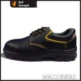 Промышленный ботинок безопасности неподдельной кожи с стальным Toe&Midsole (SN5413)