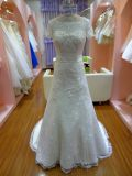 最新のPopularlの贅沢なウェディングドレスのプロムはUw4047Aに服を着せる