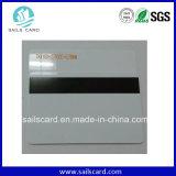 Cartão de tira magnética em branco do hotel do PVC sem impressão