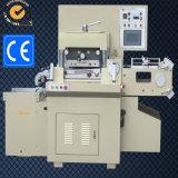Thermische Kennsatz-Papier-stempelschneidene Maschine mit heißer stempelnder Funktion