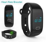 Inseguitore astuto di forma fisica del braccialetto del video di frequenza cardiaca di sport