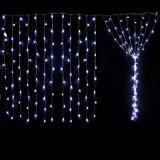 luz da cortina do diodo emissor de luz de 2X1m para a decoração do casamento