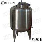 tank van de Opslag van het Hete Water van de Druk van het Roestvrij staal van de Rang van het Voedsel 3000L -10000L de Vloeibare