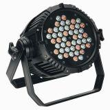 El aluminio 54X3w RGBW IP65 al aire libre impermeabiliza IGUALDAD del LED
