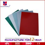 Fabricante profesional de Alucoworld para el panel compuesto de aluminio de 4m m