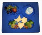 접시와 사발 부속 아기 격판덮개 실리콘 Placemat