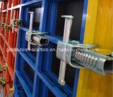 Sistema de acero del encofrado del marco de edificio para la construcción