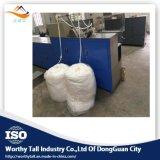 Componentes electrónicos que limpian la esponja de algodón que hace la máquina