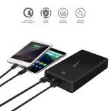 Portable dual de Powerbank de las salidas de la carga 3.0 rápidos externos de la batería de la batería de la potencia 30000mAh para el iPhone Xiaomi Samsung LG