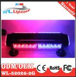 Der Verkehr, der Emergency Doppeltes mitteilt, versieht LED-heller Stab mit Seiten