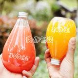 フルーツジュースの容器のための300ml 400ml 500mlの飲料のガラスビン