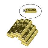 2.0 de gouden Stok van het Metaal USB van Pendrives van de Aandrijving van de Flits van de Staaf USB
