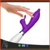 2 Vibrators Dildo de Met meerdere snelheden van de Stimulator van de Clitoris van de Vlek van G van de Vibrator van het Konijn van motoren voor het Speelgoed van het Product van het Geslacht van Vrouwen