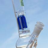 Baum Perc Glaswasser-Rohr für das Rauchen mit zerstreutem Downstem
