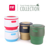 Nahrungsmittelgrad-Silikon kundenspezifische Kaffeetasse der Farben-350ml vier