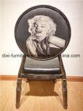ホテルの丸背の椅子パターンカスタマイゼーション