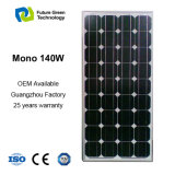 панель солнечных батарей возобновляющей энергии 140W гибкая Monocrystalline фотовольтайческая