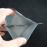 Sacos Resealable personalizados da folha de alumínio de Mylar da prata do fechamento do fecho de correr do logotipo