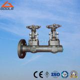 Válvula de porta de aço compata dobro (GAZ61Y)