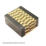 Venda por atacado de empacotamento da caixa Necklace&Ring da jóia de couro de Croco