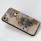 De aangepaste 3D Gevallen van de Telefoon van Squishy van het Silicone voor iPhone 6/6s plus Geval 7 7plus