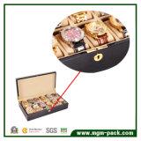 Отлакированная коробка вахты деревянного хранения Multi для 12 вахт