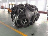 Cuscino ammortizzatore di gomma pneumatico marino usato nave