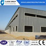 O baixo custo rápido instala o armazém da construção de aço