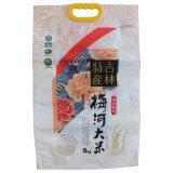 Reis-verpackenbeutel mit Griff